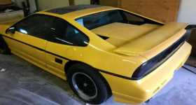 This 1988 Pontiac Fiero With 3000 miles Has Never Seen a Drop of Rain 1