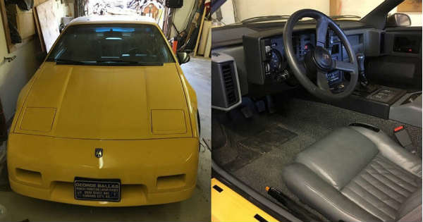 This 1988 Pontiac Fiero With 3000 miles Has Never Seen a Drop of Rain 2