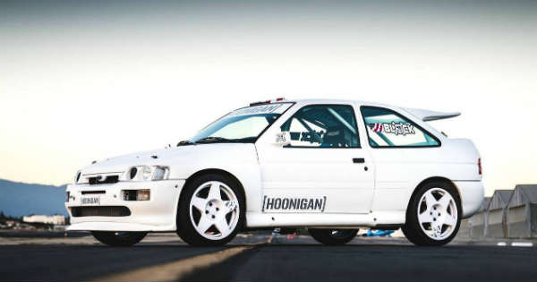This 1991 Ford Escort Cosworth is the New Ken Blocks TOY 2