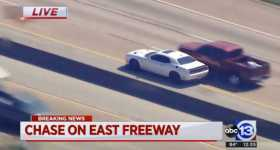 This Dodge Hellcat Is Involved In a Furious Police Chase in Houston 1