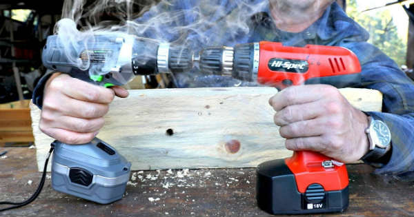 Two Cordless Drills on AMAZON Put To The Test 1