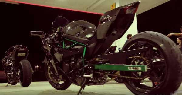 Two Mighty Bikes Kawasaki vs Hayabusa 3