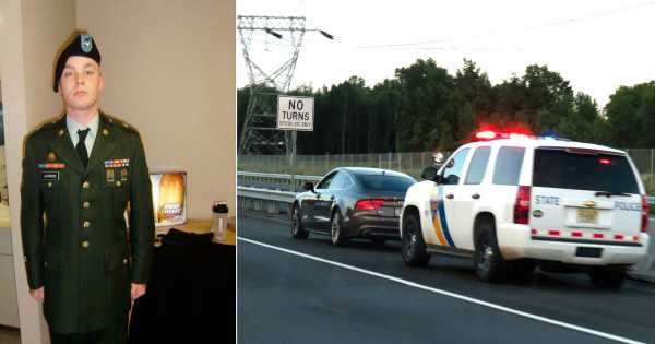 US Army Veteran Got Stopped By A Cop! What Follows Will Break Your