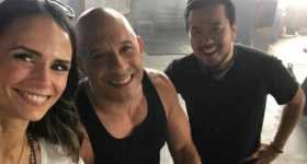 Vin Diesel Jordana Brewster Tells Awesome News On Facebook Live Video 1