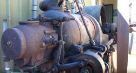 108 Years Old Kerosene Engine Start Up Incredible Sound 22