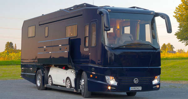 1700000 Motorhome With Its Own Garage Volkner Performance S