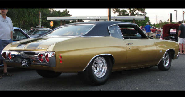 1971 SS Chevelle With 565 BIG BLOCK CHEVY 1