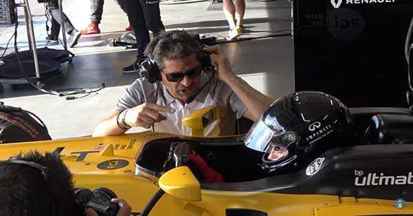 2012 INFINITI Renault Formula 1 Car Paul Ricard Circuit 2