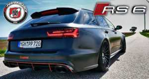 750HP Audi RS6 Build By PP Performance Akrapovic Exhaust 1
