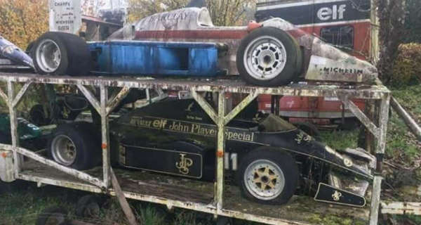 Amazing Abandoned F1 Cars Are Rusting Away 3