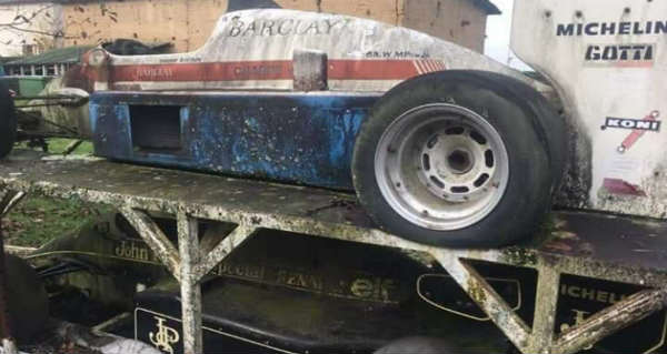 Amazing Abandoned F1 Cars Are Rusting Away 4