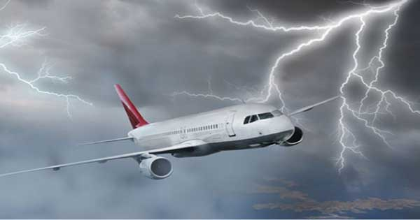 Amazing Airplane Struck By Lighting Compilation 2