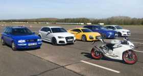 Audi RS Range Drag Race 1