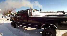 Awesome Sounding Truck Cold Start On A Ford 1