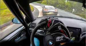 BMW M3 E46 vs Nissan GTR On The Nrburgring 11