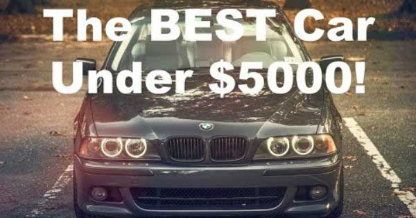 Take A Look At The Best Cars Under 5000 Dollars Muscle