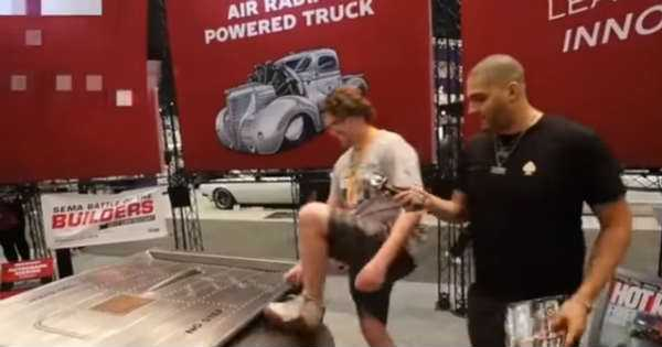 Controversial Incident At SEMA 2