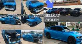 Dodge Hellcat Was Stolen They Got Away 1