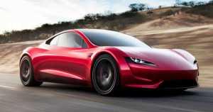 Elon Musk Unveils The Fastest Production Car Tesla Roadster Semi Truck 2