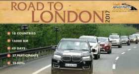 Epic Road Trip Ever India London 1