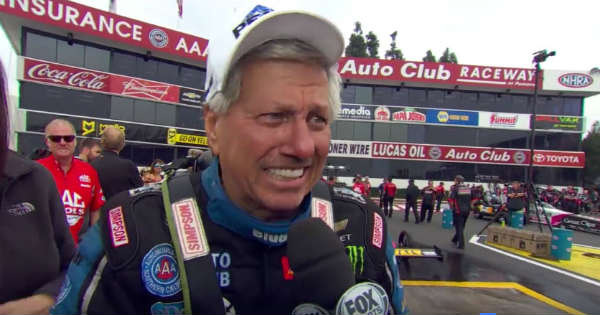 Extremely Emotional Moment For John Force His Daughter Won The First Top Fuel Title 2