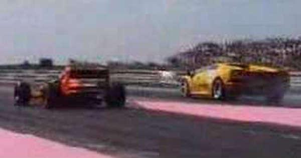 F3 Car vs Lamborghini 1
