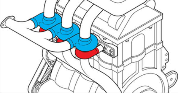 Ford Unveils An Engine With Turbocharger For Each Cylinder 2