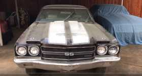Holly Grail 1970 Chevelle LS6 SS454 BARN FIND in Dallas Texas 1