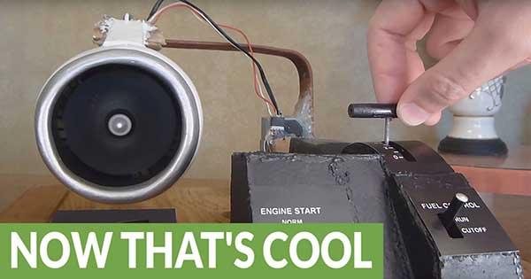 Homemade Electric Jet Engine 1