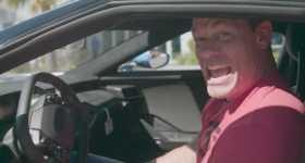 John Cena Goes Wild by a 2017 Ford GT Frankestein Roar 1