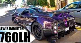 Justin Bieber Lewis Hamilton Pagani Zonda 760LH 1