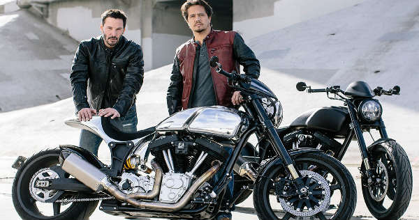 Keanu Reeves Custom Motorcycle Shop Arch Motorcycle 11
