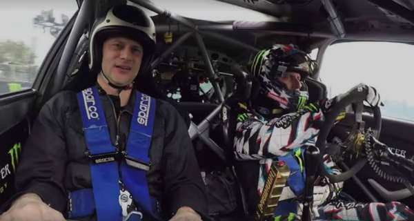 Ken Block Takes His Fans For An Exciting Ride AKA Scaring Passenger Days 2