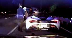 Man Drives 155MPH in a McLaren 720S Gets Caught By The Police 1