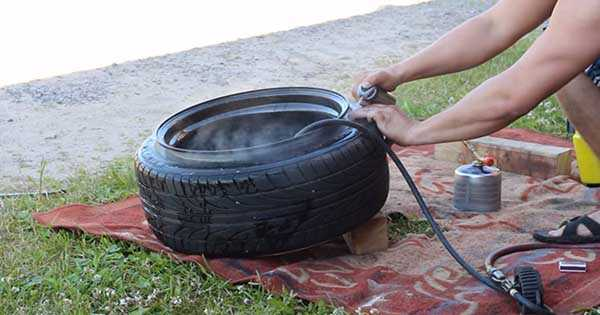 Manual Tire Mounting Process 2