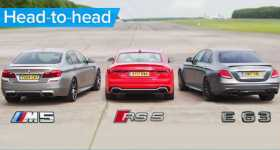Mercedes AMG vs BMW M5 vs Audi RS 5 11