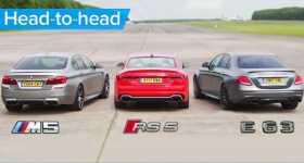 Mercedes AMG vs BMW M5 vs Audi RS 5 11