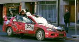 Mitsubishi Lancer UBER Rally Edition 1