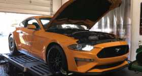 New 2018 Mustang GT Dyno Numbers 2