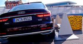 New Audi A8 Most Tech Packed Car 1