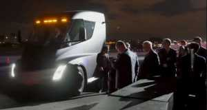 New Tesla Semi Truck Acceleration 11