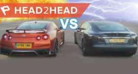 Nissan GTR Model S Acceleration Challenge 11