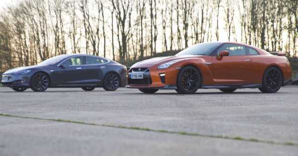 Nissan GTR Model S Acceleration Challenge 2