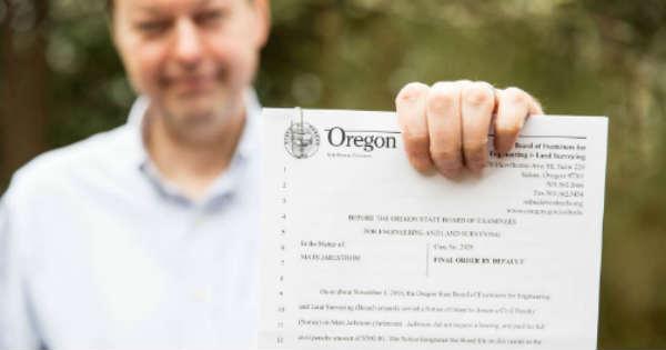 Oregon Man Fined 500 USD 3