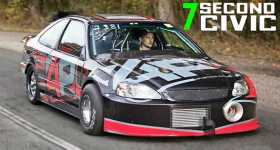 Record Breaking Ramey Built Civic 1