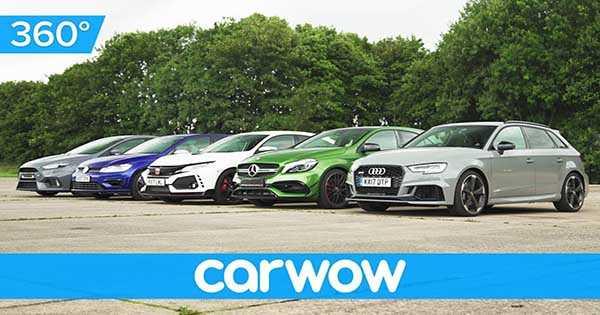 Sleeper Auto Drag Race Civic Type R vs RS Focus vs AMG vs Golf R vs RS3 2