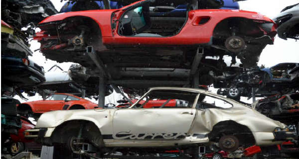 Car Show Miami >> This Sports Car Junkyard Is The Home Of Ferrari's, Porsche ...