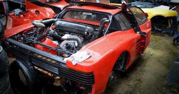 Sports Car Junkyard Wigan 5