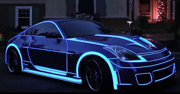 This Nissan 350Z Is A Real Life TRON Car 2