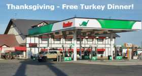 This Truck Stop Is Providing Truckers Free Meals For Thanksgiving 1